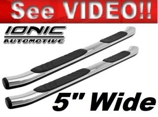 Nissan Titan Crew Cab 2004 2012 Running Boards Nerf or Tube Step Bars