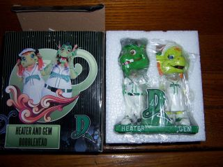DAYTON DRAGONS PRO BASEBALL HEATER AND GEM BOBBLEHEAD SGA FIFTH THIRD