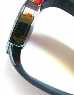 Michael Kors Watch Mens Chronograph Scout Gray Silicone Bracelet 43mm