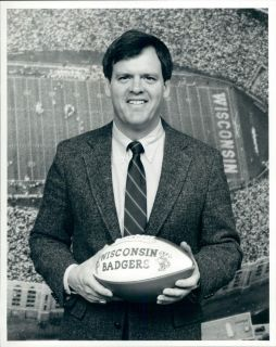 1987 Wisconsin Badgers Football Coach Don Morton