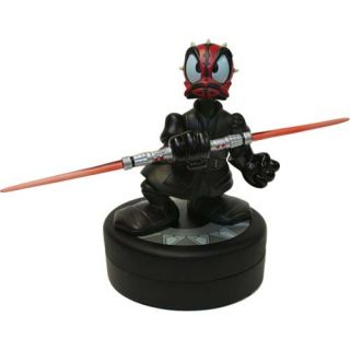 Disney Star Wars Tours Darth Maul Donald Duck Statue and Exclusive Pin