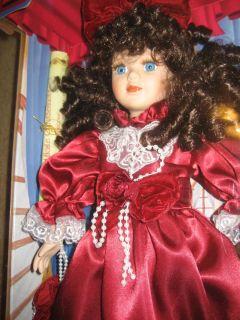 Doll Collectors Choice Genuine Porcelain Donatella deRoma