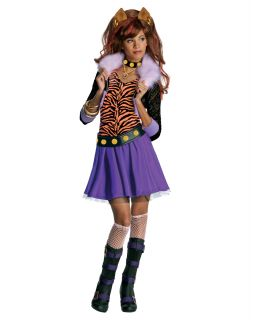 High Clawdeen Wolf Child Halloween Costume Dress Up Pretend