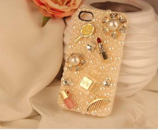 Toiletry Collections Bling DIY Deco Kit for Cell Phone iPhone 4G 4S 5