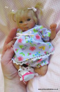 OOAK Handsculpted Polymer Clay Baby Joy by Phil Donnelly