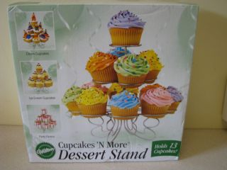 Wilton 13 Cupcake Holder Wire Cupcakes and More Dessert Stand