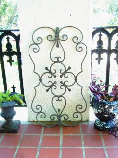 Scroll Architectural Garden Window Wall Door Gate Fence Pediment Panel