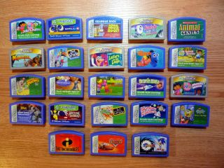 Lot of 23 Leapster Games Dora Diego Sonic Only The Best Educational