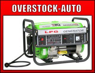ETQ PG30P11 3500 Watt Portable Home Propane Generator