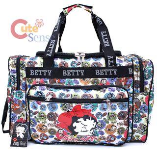 Betty Boop Duffle Travel Bag Diaper Gym Bag   Cartoon Prints