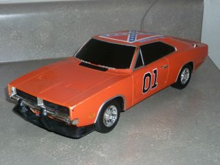 DUKES OF HAZZARD GENERAL LEE DODGE CHARGER TOY CAR RC USED PROJECT