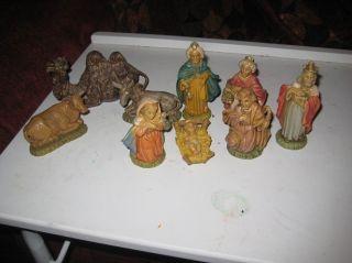 Fontanini Nativity 9 Piece Set