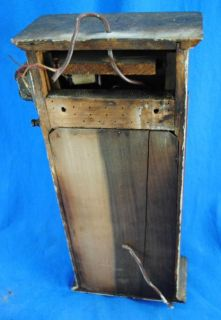 Antique Victorian Butler Maid Servant Call Bell Box Annunciator Panel