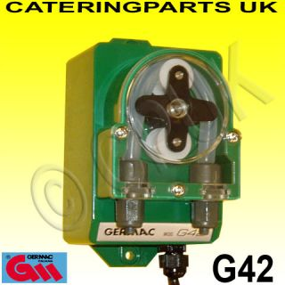 G42 Germac Wall Mount Adjustable Rinse Aid Dosing Pump