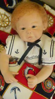 OOAK REBORN BABY BOY FIONA BY D. Donofrio now redhead SHANE
