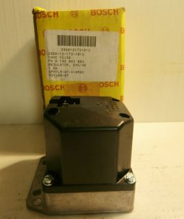 Bosch Engine Generator Voltage Regulator P N 0 192 083 003