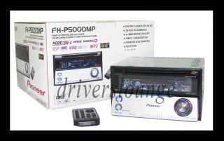 Pioneer FH P5000MP Double DIN CD  WMA Cassette Car Audio Ice