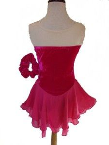 Stunning Ice Skating Dance Twirling Costume Dress Child Large (10 12)