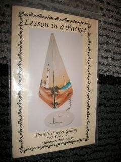 Lesson in a Packet Bittersweet Decorative Painting Pattern and