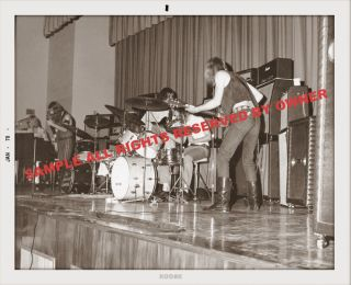 Allman Brothers Duane 8 by 10 Aprox Large Snapshot Early 1970 Only 2