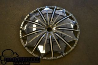 24 MHT Dub Presidential Spinner Face Wheel Rim Dub S79324 Parts