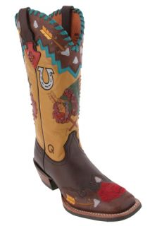 Ariat Mesa Brown Holly Rose 10008768 Womens Cowboy Boots