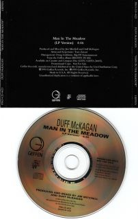 Duff McKagan   Man In The Meadow Very Rare USA Promo CD Guns N Roses