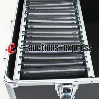 Aluminum 600 CD Holder Case for CD DVD R Media Storage