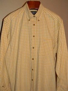 Mens Eddie Bauer Long Sleeve Shirt Size L Large