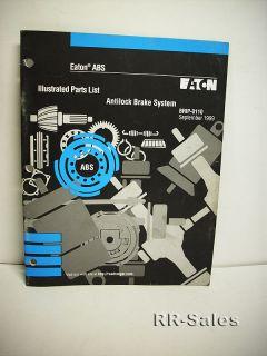 eaton abs anti lock braking system illustrated parts list manual brip