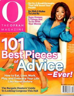The Oprah Magazine (Oct, 2012)Buy 5 ,1 more for free(Dr. Phil)