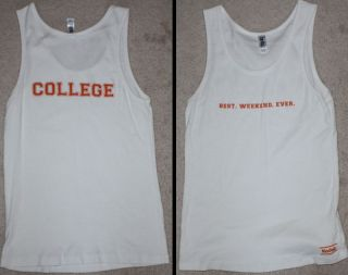 College Official Promo Movie Shirt Large Drake Bell
