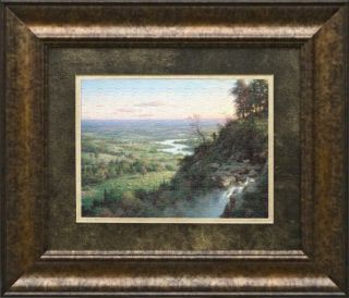 The Lost Sheep by Larry Dyke Framed Print Landscape