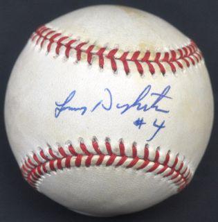 LENNY DYKSTRA hand signed Autographed Baseball ball PSA DNA COA