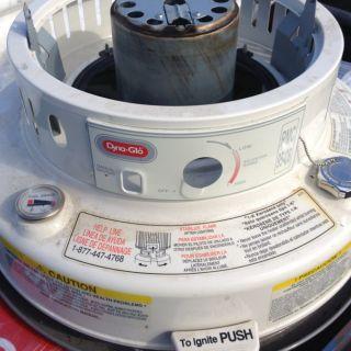 DYNA GLO Fuel Tank Assy Ivory Model RMC 95C Series Kerosene Heater