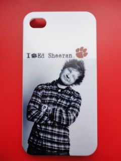 Ed Sheeran iPhone 4 4G 4S Hard Plastic Case New B