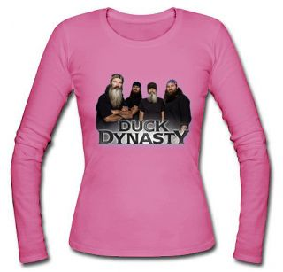 Duck Dynasty Women Long Sleeve Various Colour Size: S, M, L, XL