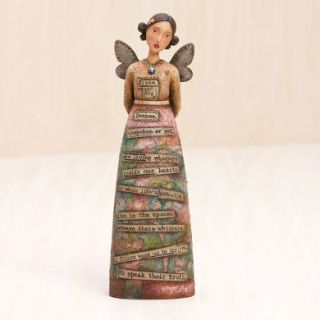 Artist Kelly Rae Roberts Collection Dream Big Angel Figure NIB Demdaco