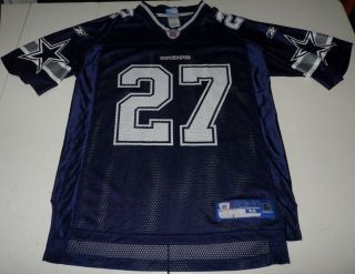 Reebok Eddie George Dallas Cowboys NFL Football Jersey Mens Medium