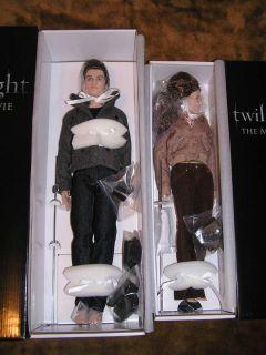 New Twilight Character Dolls Bella Edward Tonner Dolls Stephenie Meyer