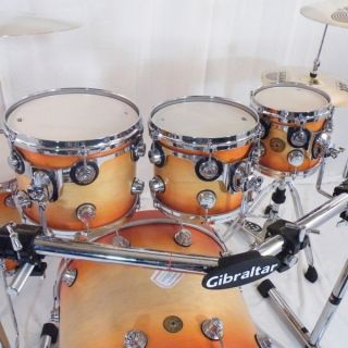 Drum Workshop DW Jazz Series 6 piece Custom Drumset w/hardare & soft