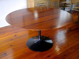 Knoll Eero Saarinen Dining Table Top 54 Rosewood