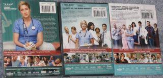 Nurse Jackie Complete Season 1 2 3 Factory SEALED Edie Falco