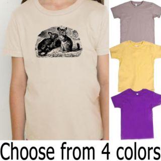 Chinchilla American Apparel Organic Kids T Shirt
