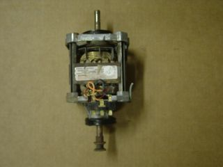 Hotpoint Dryer Motor 8 Prong Part WE17X10010 WE17X32