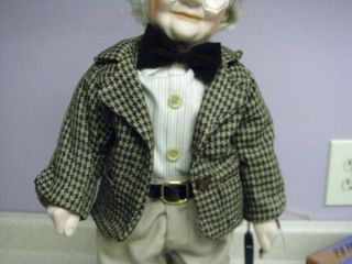 Ashley Belle Edward Bisque Porcelain Doll Original Box