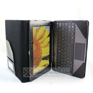 Keyboard Leather Case Cover for Asus Eee Pad Transformer 2 Prime TF201
