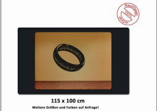 WOW Wandtattoo Deko Der Eine Ring Herr Der Ringe