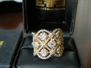 NWT EFFY COLLECTION ALMOST TWO CARAT DIAMOND RING   at Macys for $4750