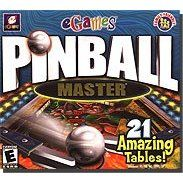 Pinball Master eGames Arcade PC Game Win 95 XP New Box 4012160321198